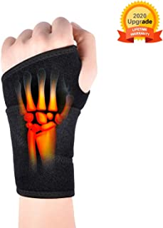 Wrist Brace for Carpal Tunnel,Comfortable and Adjustable Wrist Support Brace for Arthritis and Tendinitis, Wrist Compression Wrap with Pain Relief,Suitable for Both Right and Left Hands