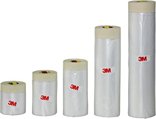 3M Drape Pre-Taped Masking Tape Drop Cloth Painting Protection Covering Film (78.7 inch (2000mm))