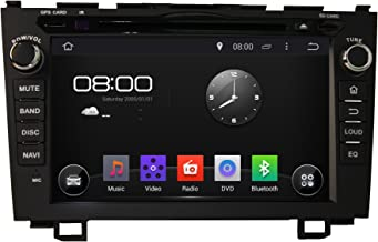 KUNFINE Android 8.0 Otca Core Car DVD GPS Navigation Multimedia Player Car Stereo for Honda CRV 2006 2007 2008 2009 2010 2011 Steering Wheel Control 3G WiFi Bluetooth Free Map Update 8 Inch
