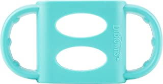Dr. Brown's 100% Silicone Standard-Neck Baby Bottle Handles, Turquoise