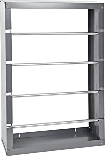 Durham 368-95 Gray Cold-Rolled Steel Wire Spool Rack with 4 Rods, 26-1/8