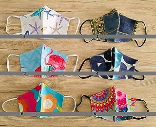 Tina Codazzo Home Crea il tuo set beccucci in cotone multiuso lavabile fantasie assortite, set 4 pezzi