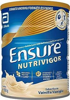 Ensure Nutrivigor - Complemento Alimenticio para Adultos, con HMB, Proteínas, Vitaminas y Minerales, como el Calcio - Sabo...