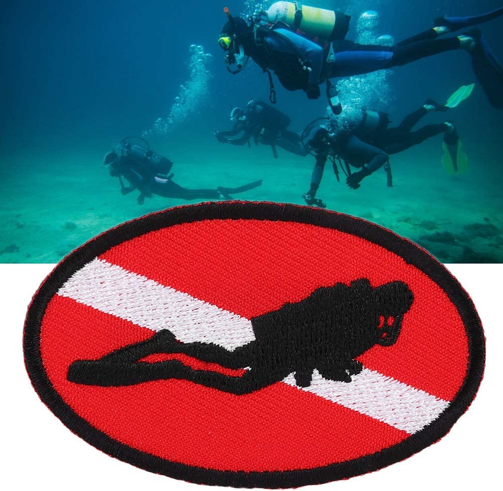Tgoon Dive Badge Max 70% OFF latest Polyester Material Embroider Quality