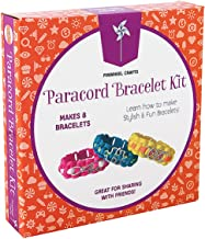 Paracord Charm Bracelet Making Set: Pinwheel Crafts DIY Bracelets Kit for Girls, Teens & Children - Make Your Own Personalized Friendship & Fashion Jewelry for Birthdays, Parties, Camps & Art Projects