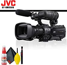 JVC GY-HM850 ProHD Compact Shoulder Mount Camera with Fujinon 20x Lens (International Model) + Cleaning Kit