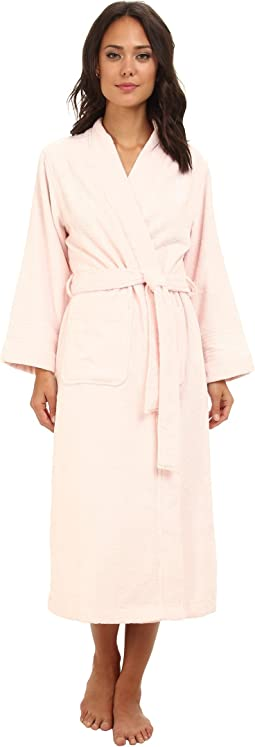 LAUREN Ralph Lauren Greenwich Woven Terry Long Robe