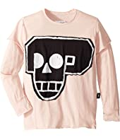 Skull Robot Patch T-Shirt (Little Kids/Big Kids)