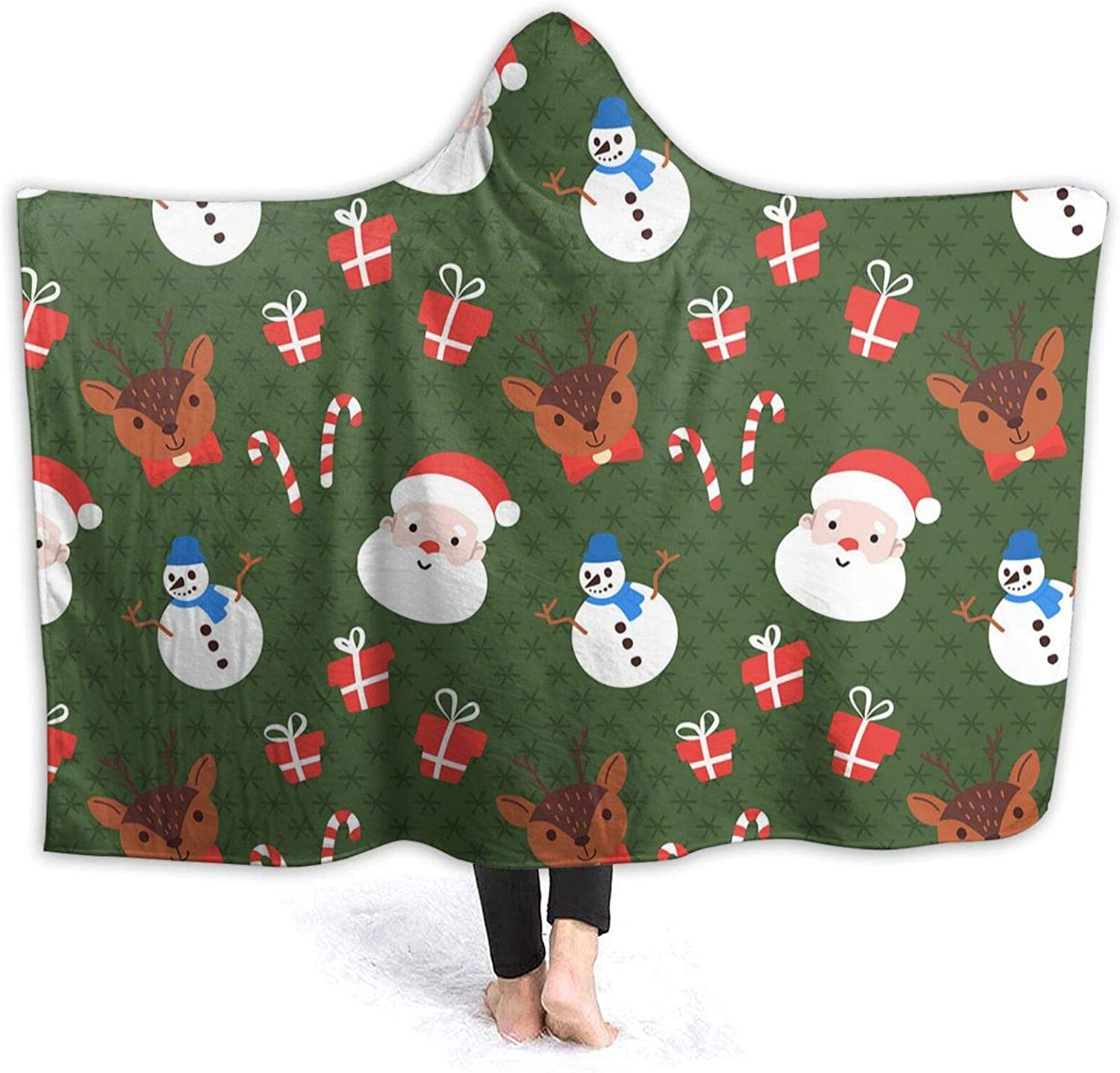 Max 85% OFF Funny Xmas Hooded Blanket Conditioning Throw Max 84% OFF Air