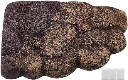 Tortuga Plataforma Aalen Natural hábitat Rocas Resina nación Isla Acuario Piedra decoración para Medio Agua Animales