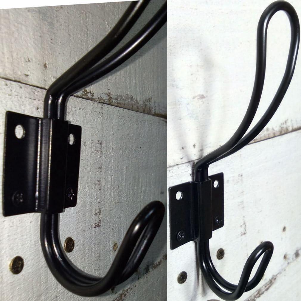 Double Coat Hooks 55x55x50mm Brass Chrome badartikel Accessories Hook Camp Deal