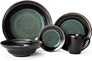Gourmet Basics Jade Dinnerware Set (40 Piece)