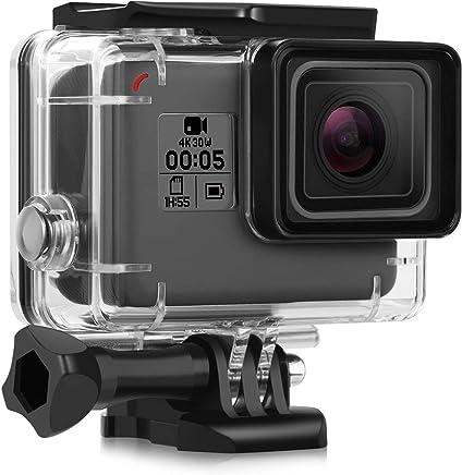Waterproof Housing Case for GoPro Hero 7 Black Hero 2018 Hero 6 Hero 5, iTrunk 45M Underwater Protective Case Shell Accessories for GoPro HERO 7 2018 Hero 6 Hero 5 Black Action Camera
