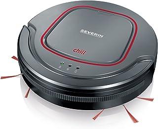 comprar comparacion Severin RB 7025 Robot aspirador, batería de iones de litio de 12.8 V, Chill, gris/rojo/negro