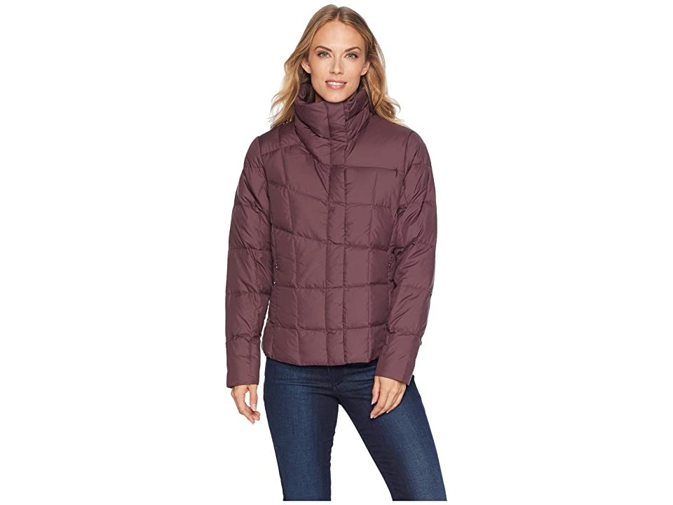 NAU Ellipsis Down Shirt Jacket (Plum) Women