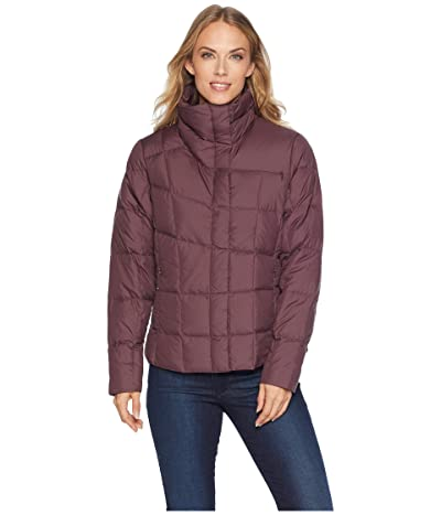 NAU Ellipsis Down Shirt Jacket (Plum) Women
