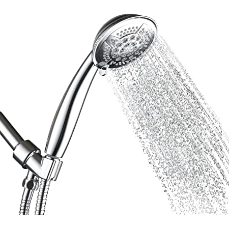 5 Spray Settings High Pressure Handheld Shower Head Massage Spa Detach