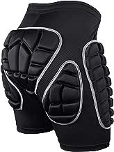 SKL Pantalones Cortos Acolchados, Hip Pad Protector para Esquí, Patinaje, Snowboard y Otros Deportes (S,M,L)