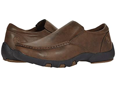 Roper Trent (Brown Faux Leather Upper) Men