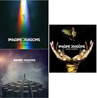 Evolve - Night Visions - Smoke + Mirrors - Imagine Dragons Coplete Studio Albums Box-Set 3 CD Bundling