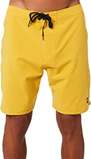 Banks Men's Visitor Mens Boardshort Cotton Fitted Elastane Yellow