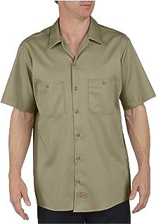 Dickies - - Camisa de manga corta Industrial Trabajo Algodón - LS307