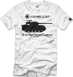 Camiseta M18 Hellcat Panzer Jagdpanzer USA 76 mm Gun Motor Carriage # 32957