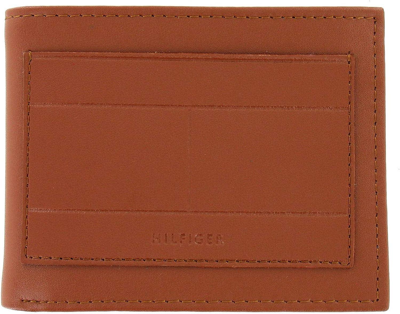 Tommy Hilfiger Mens Tan Bi-Fold Wallet