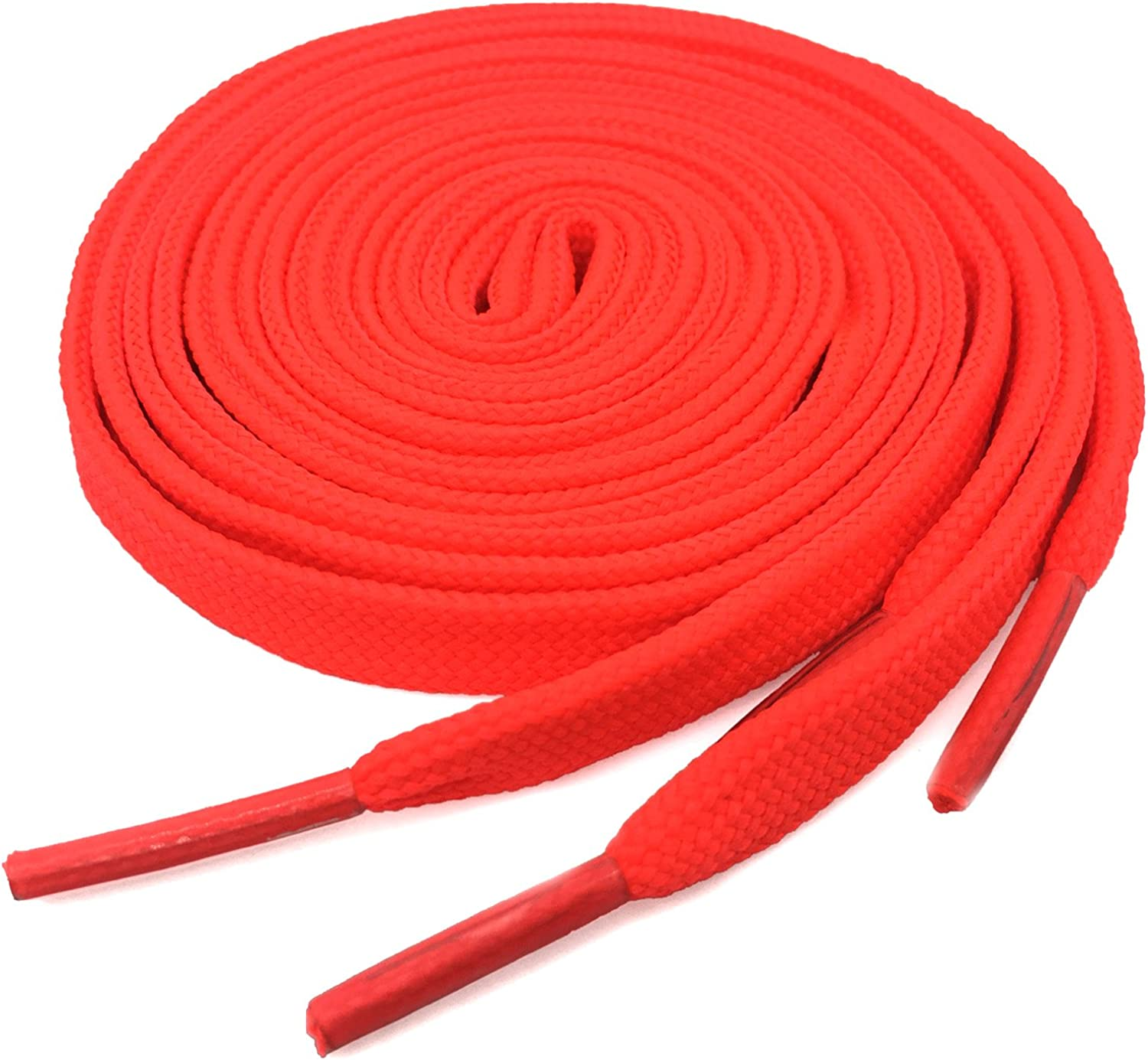 Flat Athletic Max 77% OFF Shoelaces Topics on TV YJRVFINE Thick Shoe for Strings Laces Sn