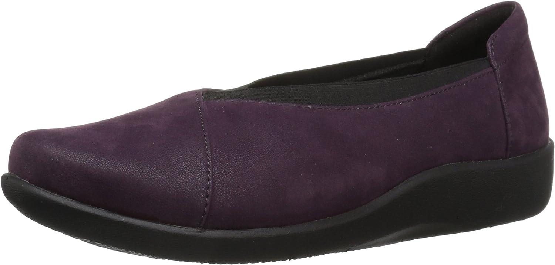 Clarks - - Sillian Holly Schuh der Frauen, 37.5 EUR, Aubergine