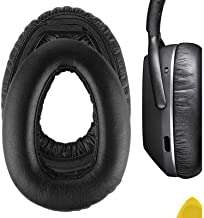 Geekria QuickFit Protein Leather Replacement Ear Pads for Sennheíser PXC 550 PXC 550-II Wireless MB 660 Series Headphones ...