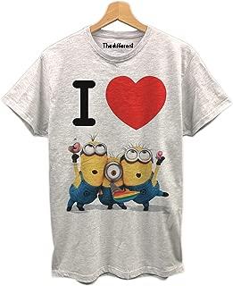 t-Shirt Bimbo Mezza Manica Cotone Cattivissimo Me Minions Art 71-224