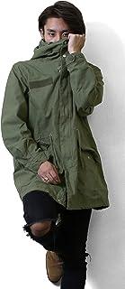 モッズコート メンズ 春 コート スプリングコート マンパー マウンテンパーカー ロングコート M51 ミリタリーコート ミリタリー