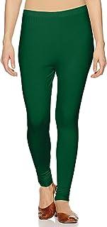 Lux Lyra Women's Leggings Ankle_20_FS_1PC_Rama Green_Free Size