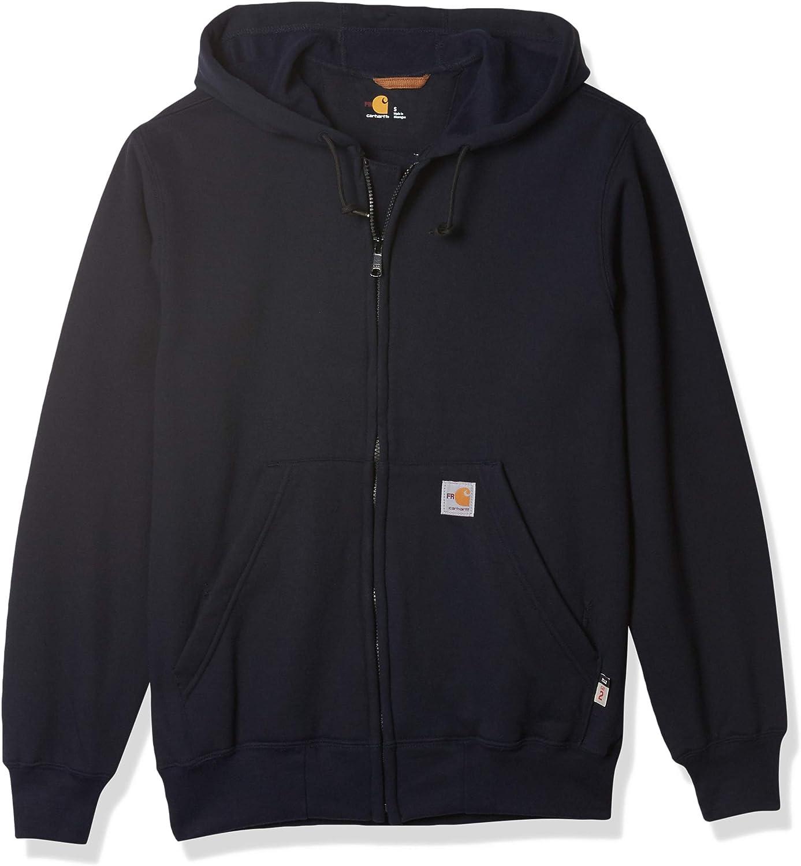 Carhartt Men's Big & Tall Flame Resistant Heavyweight Zip Sweatshirt