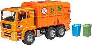 Bruder BRU02760 MAG TGA Garbage Truck (Orange)