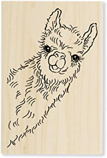 Stampendous Llama Look Rubber Stamp