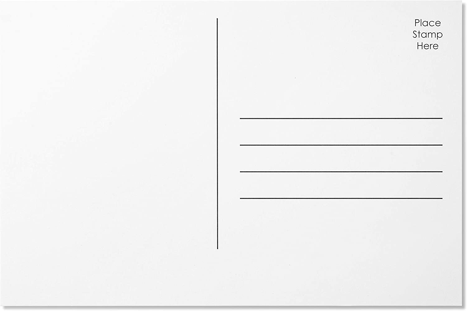 Jot Mark Design Your Own Blank Postcards 4x6 Mailable Ranking TOP9 outlet Plain