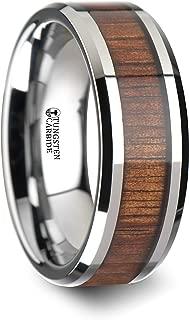 tungsten ring with platinum inlay