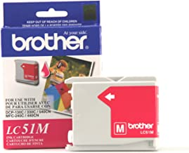 Brother Innobella LC51M Ink Cartridge, 400 Page Yield, Magenta