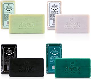 Secret Collagen Skin Tightening Soap Bar Collection - Retinol Rich Lifting and Toning Skin Care Product - Cellulite Firming Formula - Smoothens and Tones Loose Thighs, Legs, Arms, Belly, and Neck
