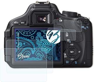 Bruni Schutzfolie kompatibel mit Canon EOS 60D Folie, glasklare Displayschutzfolie (2er Set)