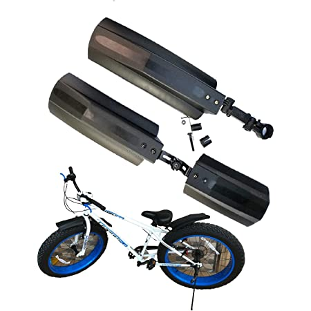 """Bicycle Bike Front Rear Mudguard Cycling Bike Fender For 20//26/"""" Tire Fat S2N3"""