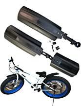 """Bicycle Bike Front Rear Mudguard Cycling Bike Fender For 20//26/"""" Tire Fat P0S8"""