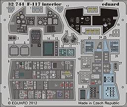 F-117 Interior for TSM (Painted Self Adhesive) 1/32 Eduard