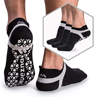 Men's Non-Slip Yoga Socks, Anti-Skid Pilates, Barre, Bikram Fitness Hospital Slipper..