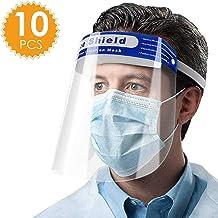 Exceart 6Pcs /Écran Facial de S/écurit/é Anti-/Éclaboussures Protecteur Protecteur Facial /Écran Visi/ère Protection T/ête Des Yeux pour Maison Ou Lext/érieur Premiers Soins Utiliser Lapprovisionnement