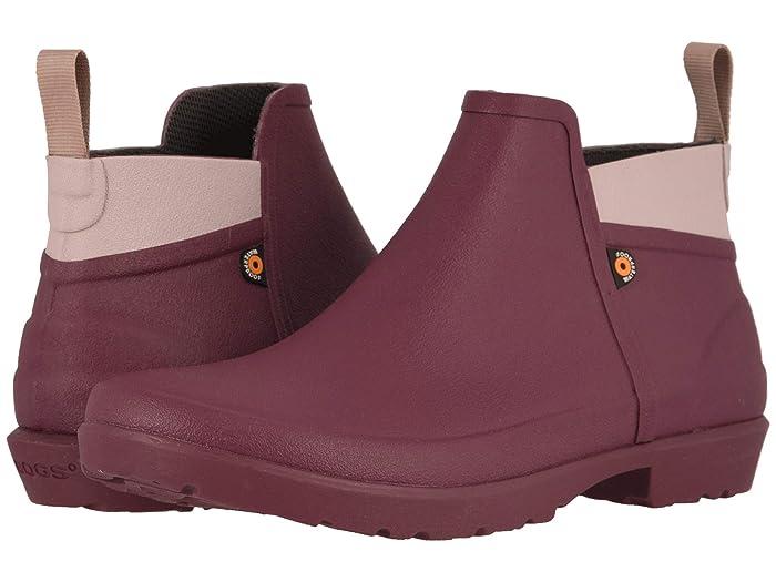 Bogs  Flora Bootie (Violet) Womens Rain Boots