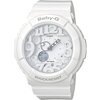 [カシオ] 腕時計 ベビージー BGA-131-7BJF ホワイト