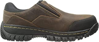 Skechers for Work Men's Hartan Steel Toe Slip-On Shoe